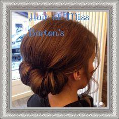 Hair  by Miss Barton's salon  #glasgow #westend #hairupdo #hair #colour #prom #bridal