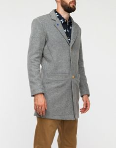 Banker Trench Coat Grey