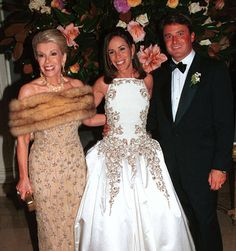 JOAN RIVERS WEARING RUSSIAN SABLE AT DAUGHTER MELISSA' S FAIRY TALE RUSSIAN WEDDING~  Joan at her daughter's wedding to John Endicott at the Plaza Hotel, 1998.
