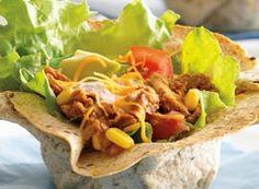 Spicy Tuna Taco Cups   Clover Leaf