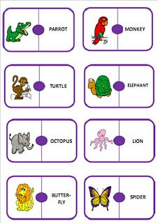 ALGOPEKES: Animals domino