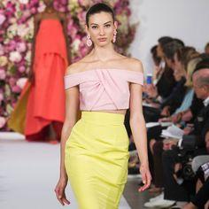 The Best Looks From New York Fashion Week: Spring 2015 Oscar de la Renta