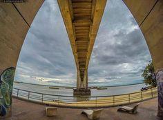 Bajo el Puente Gral. Belgrano en Ciudad de Corrientes  Foto: Esteban Zarate