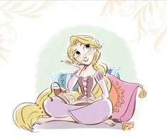 Rapunzel #disney #disneyfanart #fanart