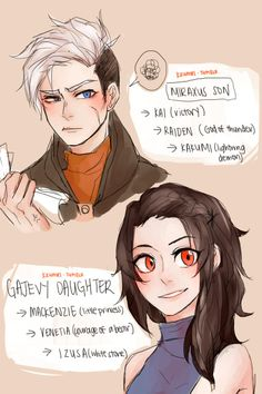 Everyone made babies, Miraxus son and Gajevy daughter