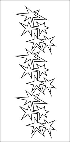 """5"""" Block - 6"""" x 18"""" Stencil"""