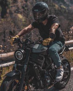 I never forget just wait for pay back Motos Yamaha, Yamaha Bikes, Cafe Racer Motorcycle, Motorcycle Design, Motorcycle Style, Ducati, Motorcycles, Motorcycle Outfit, Honda Street Bikes