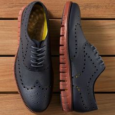 Fancy - ZeroGrand Wingtip Oxford by Cole Haan