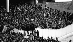 Police climbing into the Shelf during the 1980 NLD Football Stuff, Football Fans, Tottenham Hotspur Football, London Police, Spurs Fans, White Hart Lane, Football Casuals, Keep An Eye On, North London