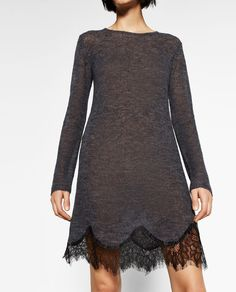 Image 5 of SOFT LACE DRESS from Zara