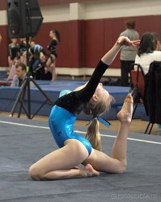 gymnastics competition, gymnast, floor routine #KyFun