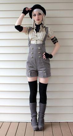Pix For > Diy Steampunk Costume Women A