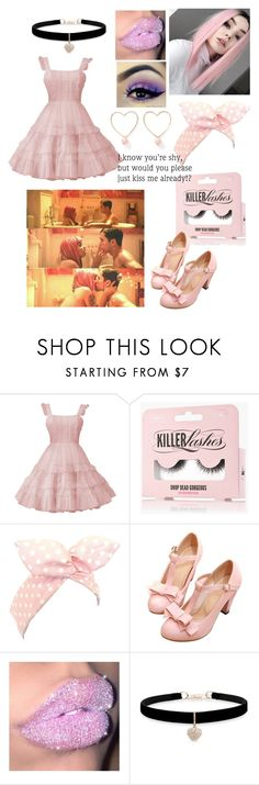 """""""I'm tired of being careful"""" by reb-hood ❤ liked on Polyvore featuring Lulu in the Sky, Betsey Johnson and Ana Accessories"""