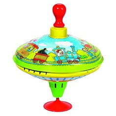 Spinning Tops - Cause Train Humming Top with Wooden Handle ** For more information, visit image link.