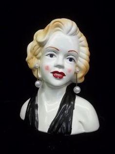 Marilyn Monroe Head vase