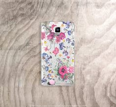 Fall Samsung Galaxy Note 5 Case Clear Floral by casesbycsera