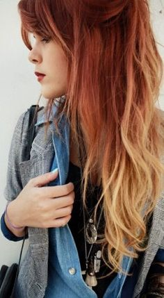 Are you a fan of red ombre hair? Have you been looking for instructions on how to pull it off? Use this tutorial to come up with awesome red ombre hair