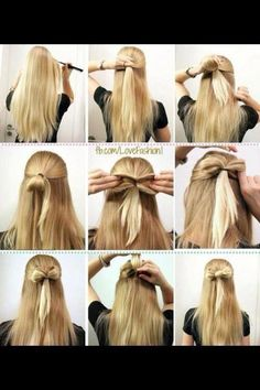 bow in your hair(;