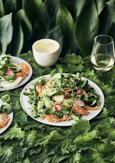 Japanilainen lohisalaatti | Kala, Juhli ja nauti, Salaatit | Soppa365 Salads, Cooking Recipes, Fresh, Healthy, Kitchen, Sassy, Drink, Turmeric, Cooking