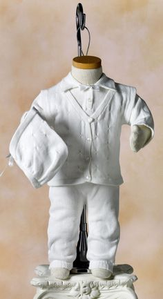 a68ec84d7 Cuddle up Baby Boy Long - White Elegance - Makers of LDS Temple Clothes,  Temple Dresses, Pioneer Costumes and. Anita Gonzales-Coluci