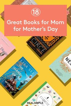 18 Great Books for Mom for Mother's Day | From cookbooks to historical fiction novels, we've got great book ideas for moms of all tastes on our list of the best books for moms. #realsimple #bookrecomendations #thingstodo #bookstoread Historical Fiction Novels, Best Titles, Books For Moms, Real Simple, Great Books, Books To Read, Entertaining, Reading, Day
