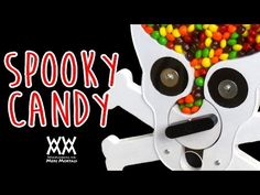 Woodworking for Mere Mortals: Free woodworking videos and plans. : Make a candy dispenser