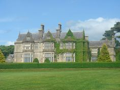 The majestic Muckross House and its famed gardens on the lakes of Kilarney in County Kerry #TheGathering
