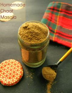 Every massala in Indian cooking has its own importance and may be that's why many people believe that Indian cooking is a complex pr. Chana Masala Powder Recipe, Masala Recipe, Homemade Spices, Homemade Seasonings, Spice Blends, Spice Mixes, Masala Spice, Chaat Masala, Indian Food Recipes