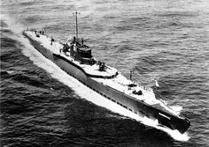 SUB ~ Early 1930's photo of the Narwahl (SS-167). She was one of two SUB SUB ~ crusier submarines inspired by the German U-cruisers of WW I, armed with 6in/53 guns. Her high freeboard reflects great reserve buoyancy.~ BFD