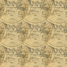 Aol image search result for httpwholesale fabric discount vintage inspired world map fabric hemisphere world 1830 by ravynka world cotton fabric by the yard with spoonflower gumiabroncs Image collections