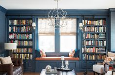 These artfully arranged bookshelves demonstrate that beauty is in the details. See some of our favorite bookshelf designs from the classic to the contemporary by designers on Dering Hall.