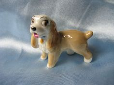 "Cute -  Disney Wade Whimsies -  Lady from ""The Lady and the Tramp""  by MissieMooVintageRoom"