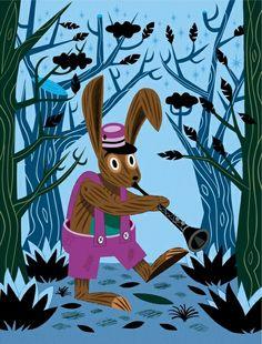 Oliver Lake - профессиональный иллюстратор детских книг.  Больше работ: www.artearth.ru/profiles/oliver-lake