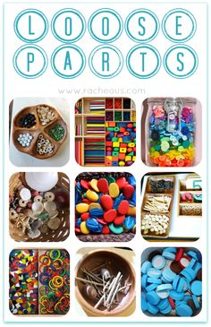 Loose Parts | Day 25 - 30DaysTYP - Racheous - Respectful Learning & Parenting
