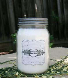 Parisian Lace, 100% All Natural Soy Candle