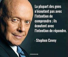 304 Likes, 5 Comments - Pensées et Réflexions ( on Inst. Wise Quotes, Famous Quotes, Success Quotes, Words Quotes, Wise Words, Quotes To Live By, Motivational Quotes, Inspirational Quotes, Stephen Covey