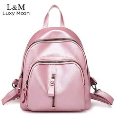 Ly-lgb New Korean Version of The Two-Piece Girl Cartoon Shoulder Bag Childrens School Bag Primary School Trolley Bag Color : Rose red