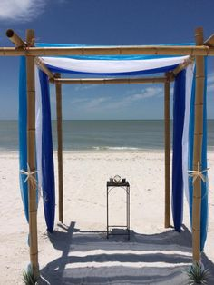 Something Blue On Arbor For Your Beach Wedding SW Florida All Inclusive Packages