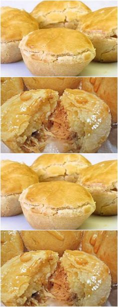 Empanadas, Scones, Portuguese Recipes, Canapes, Tapas, Bacon, Good Food, Food And Drink, Appetizers