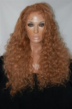 Custom Made Beautiful Full Lace Front Wig 14-28 inches long