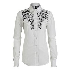RU Cowgirl Women's Embroidered Western Shirt