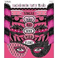 Bachelorette Party Masks 6ct