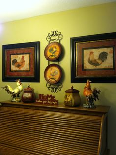 Rooster Decor