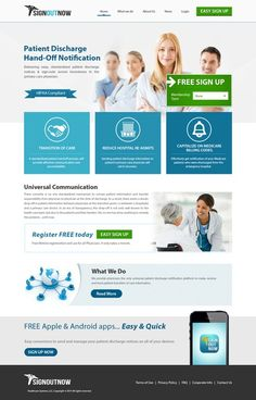 Create webpage for Medical Doctors by Artistden