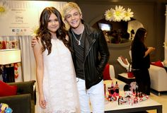 Maia Mitchell and Ross Lynch ~ Minnie Gifting Lounge At The 2013 Radio Disney Awards