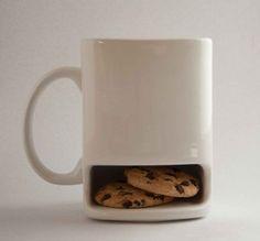 adorable mug with a secret pocket :)