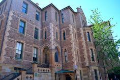 The Nightingale Wing of the Sydney Hospital was built in the Gothic revival style