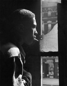 Harlem gang leader, 17-year-old (Leonard) Red Jackson trapped in an abandoned building by a rival gang. New York, 1948