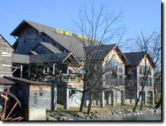 The Old Mill Restaurant in Pigeon Forge, Tennessee --- our favorite place to eat Thanksgiving dinner!