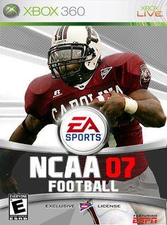 Football Video Games, Go Gamecocks, Madden Nfl, South Carolina Gamecocks, Ea Sports, Game Rooms, Xbox 360, Espn, Football Helmets
